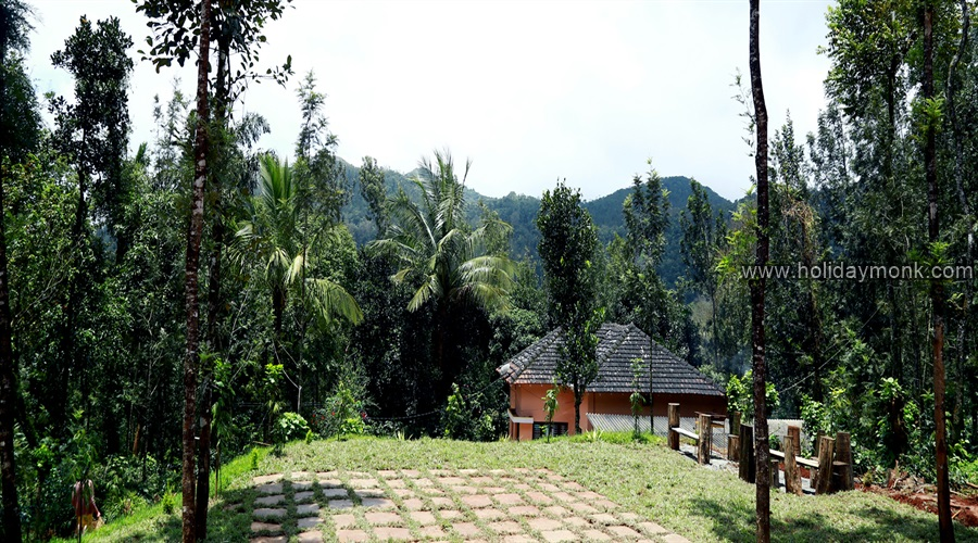 chikmagalur homestay amid coffee plantation