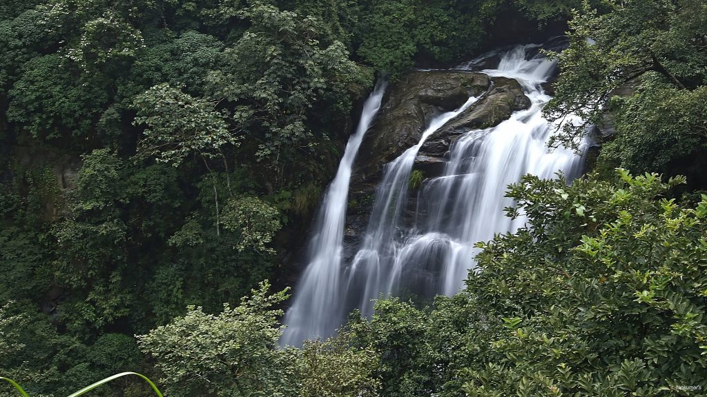 Alekhan falls near Kottigehara near Mudigere in Chikmagalur